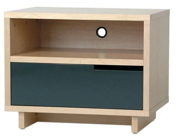 Contemporary Side Table / Oak / Walnut / Maple   MODU LICIOUS