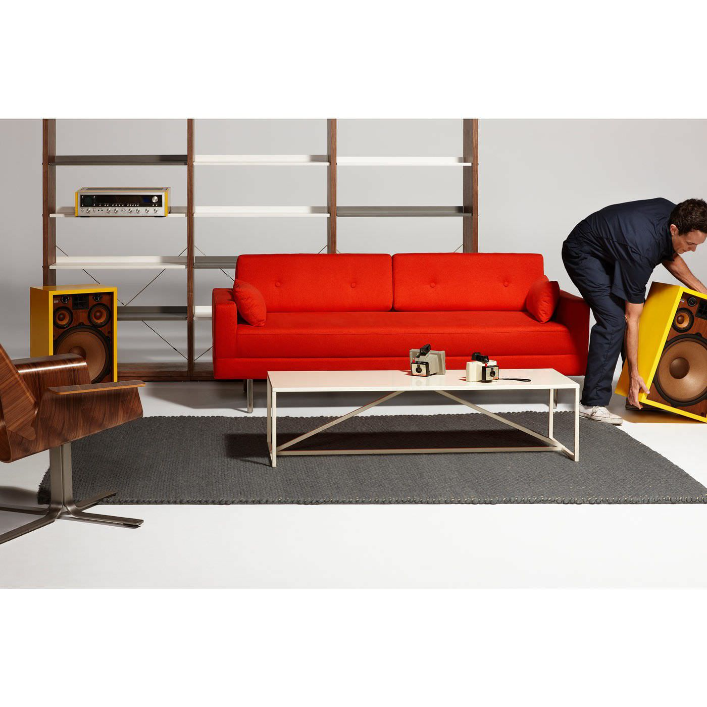 ... Sofa bed / contemporary / fabric / brown ONE NIGHT STAND BLU DOT ...  sc 1 st  ArchiExpo : blu dot sectional - Sectionals, Sofas & Couches