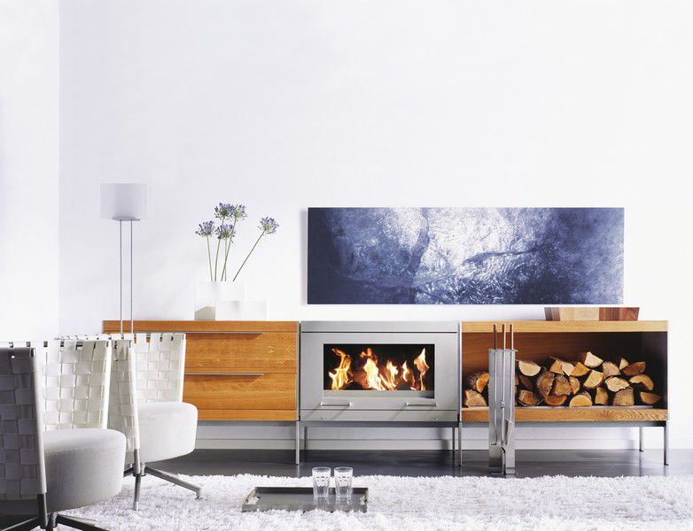 Fireplace Set By Peter Maly Conmoto