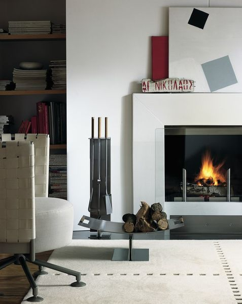 Attractive Fireplace Set By Peter Maly Conmoto ... Photo