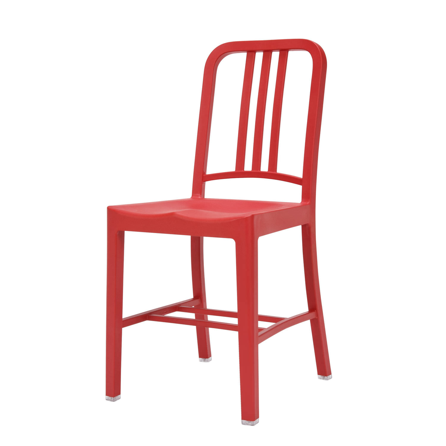 Classic chair made from recycled materials PET aluminium