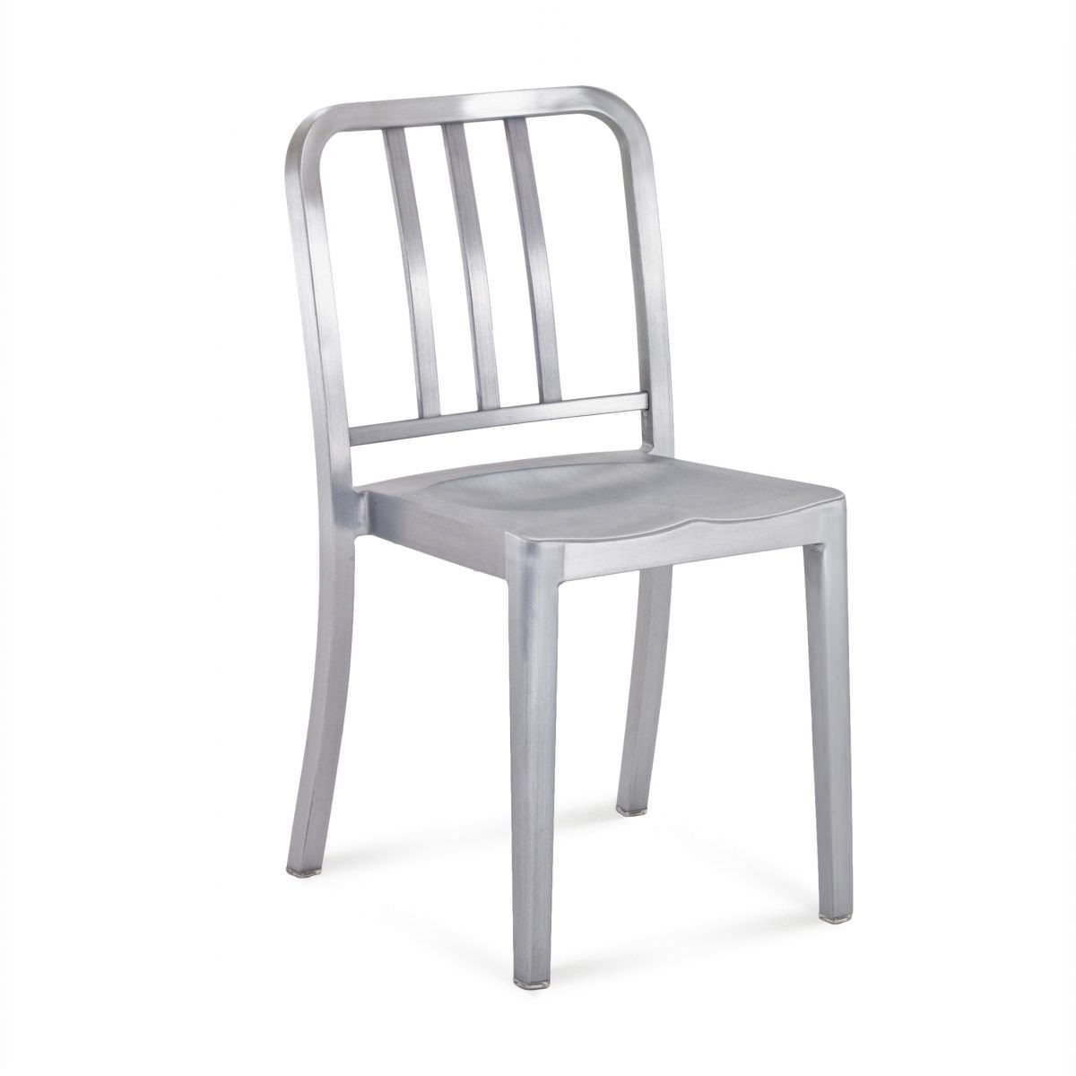 contemporary restaurant chair stackable wooden aluminium