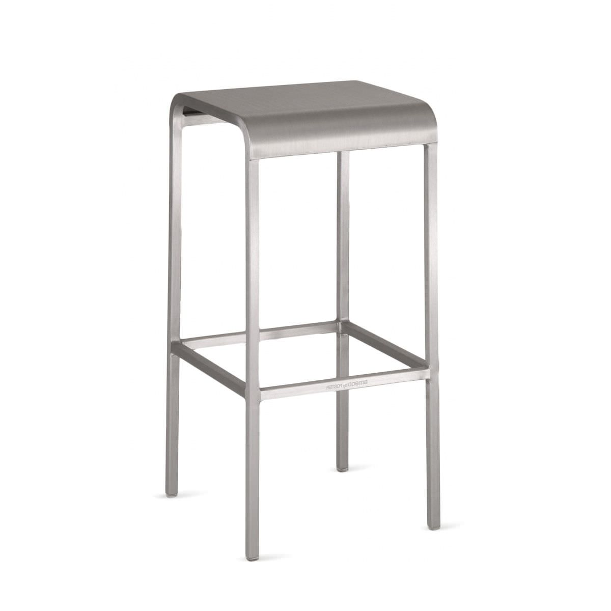 Contemporary bar stool / metal - 20-06 : 2006 30 by Norman Foster