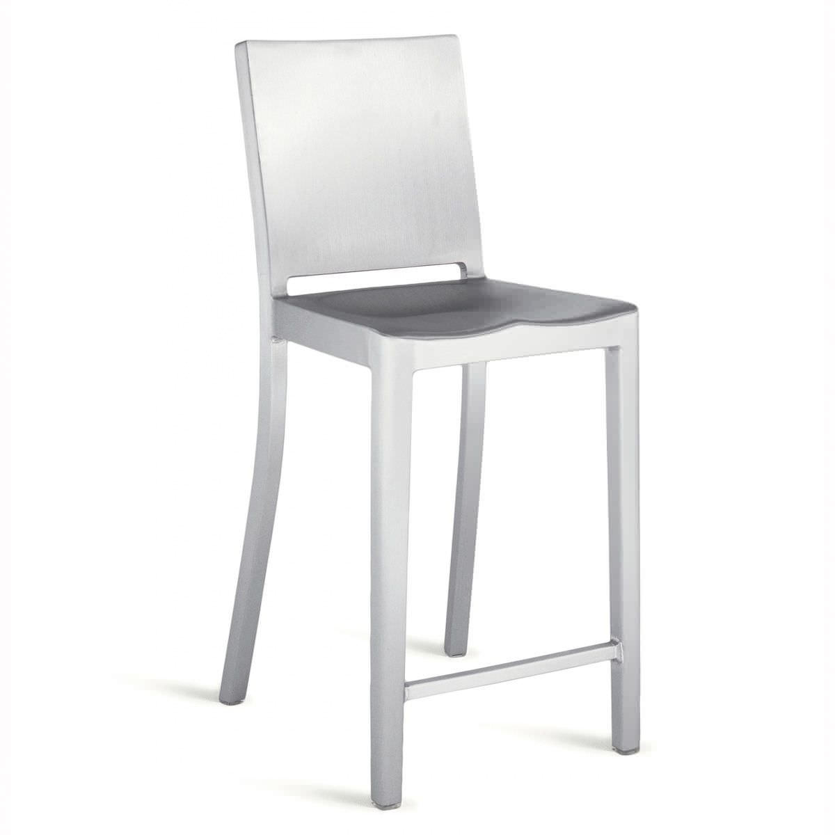 Contemporary Bar Chair Aluminum By Philippe Starck Hudson Hudctr 24