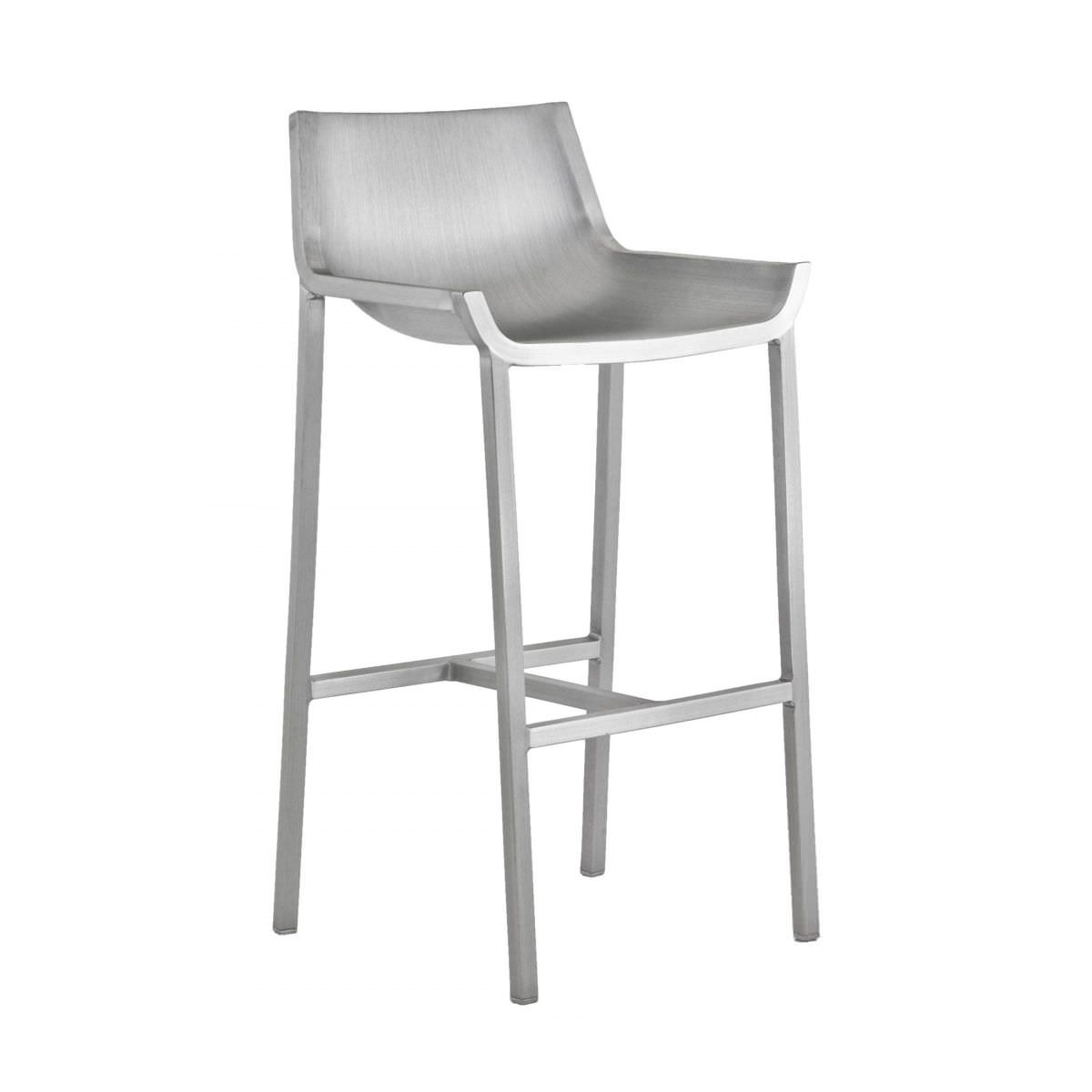 Contemporary Bar Stool / Aluminum / Made From Recycled Materials /  Commercial   SEZZ : SEZZBAR 30
