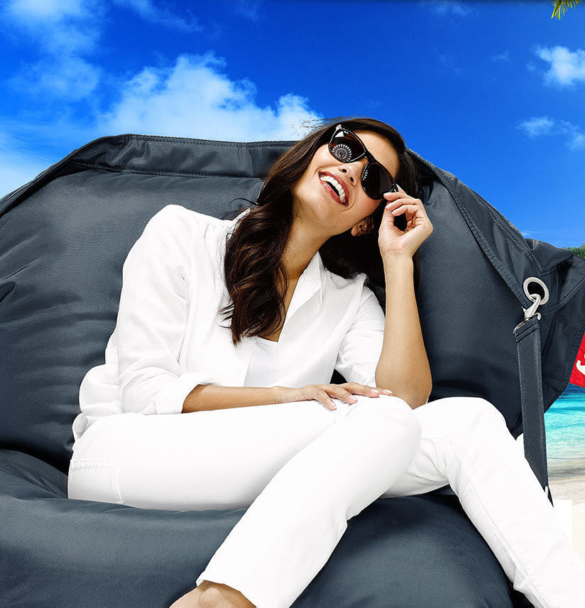 Contemporary Bean Bag Fabric Commercial Outdoor Buggle Up