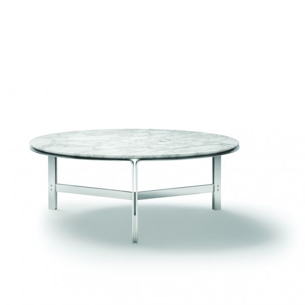 Contemporary Coffee Table / Metal / Marble / Solid Wood   CLARKE