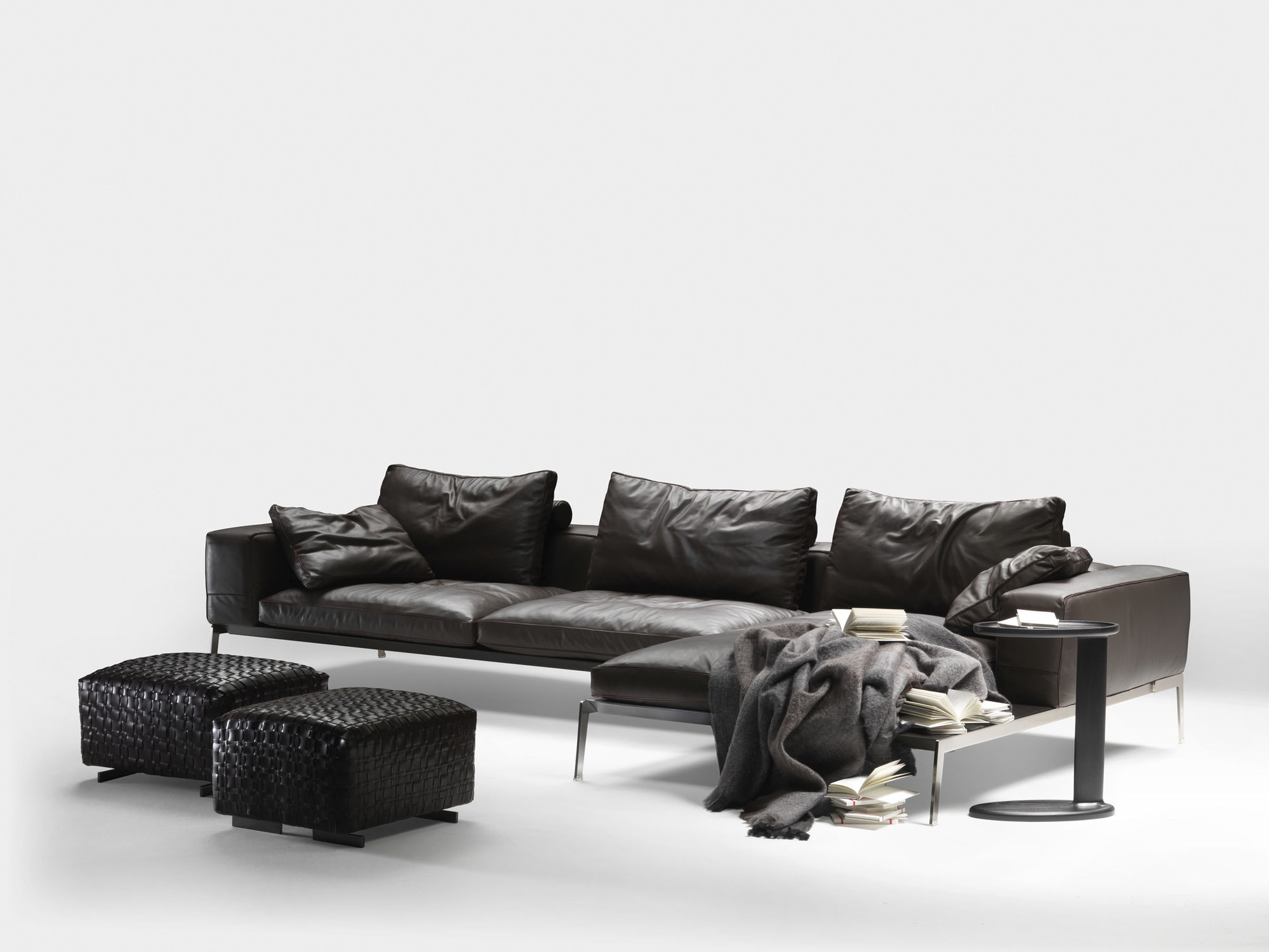 Modular Sofa / Contemporary / Fabric / Leather   LIFESTEEL