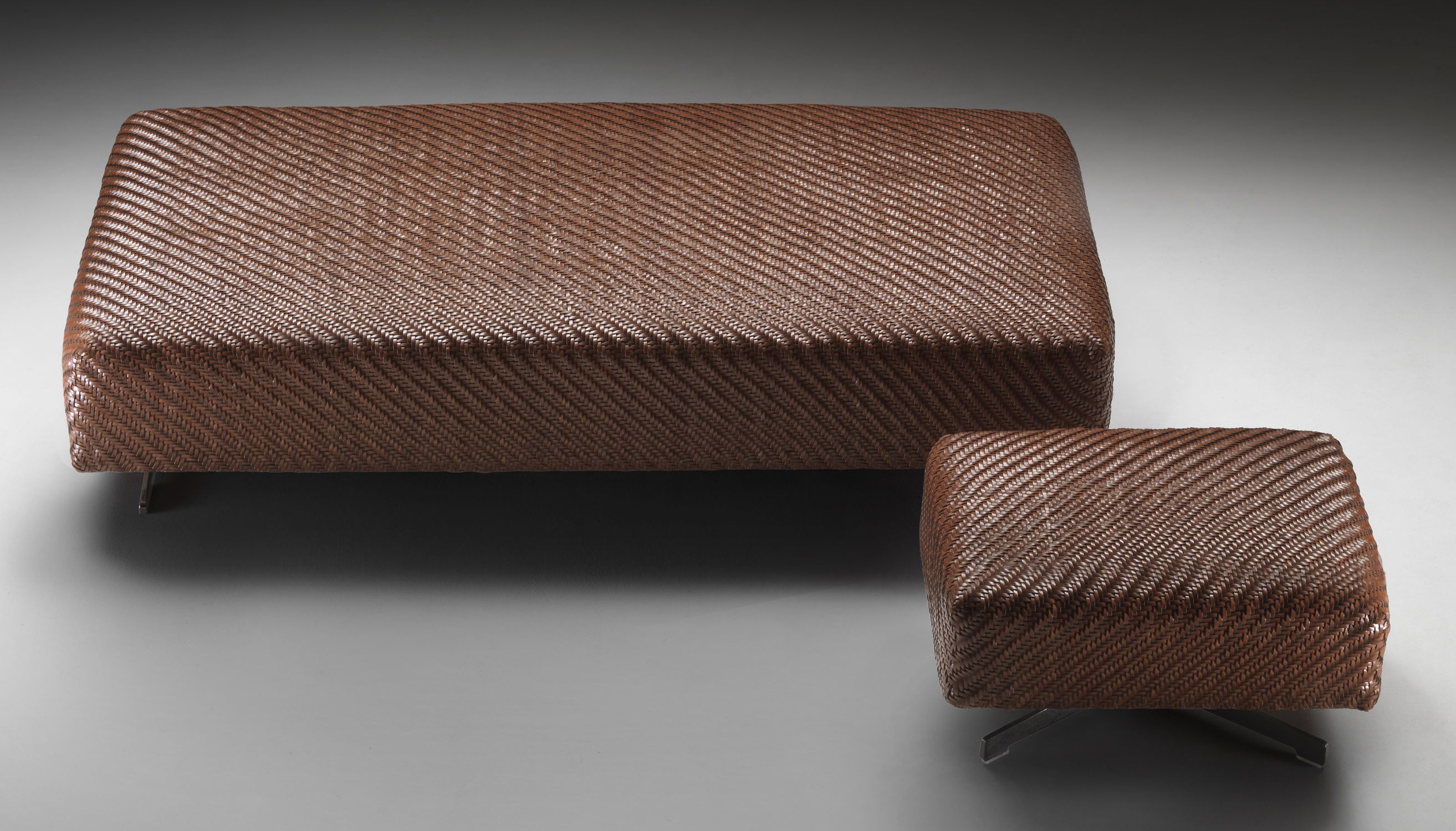 contemporary ottoman  fabric  leather  indoor  filicudi  flexform - contemporary ottoman  fabric  leather  indoor filicudi flexform