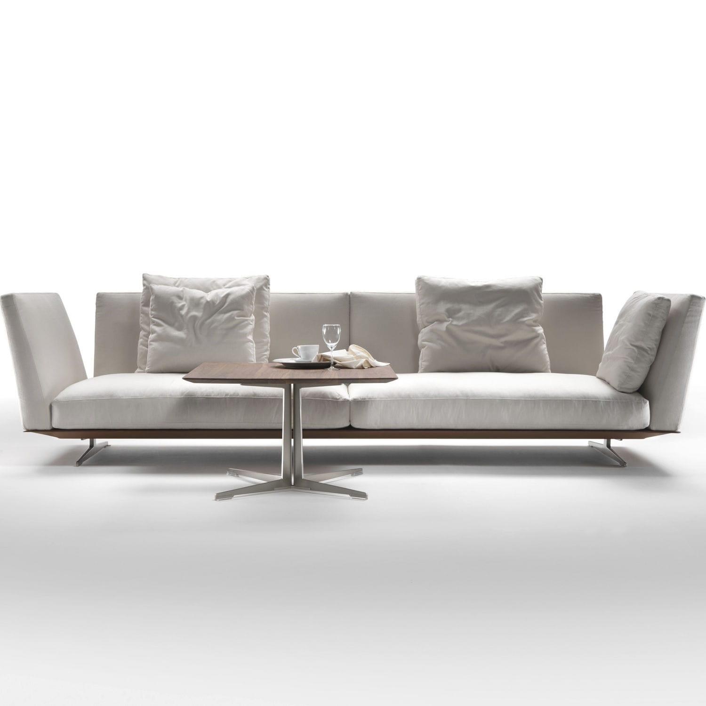 Modular sofa contemporary leather fabric EVERGREEN FLEXFORM