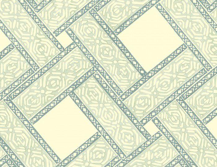traditional wallpaper / fabric / plaid - PARQUET