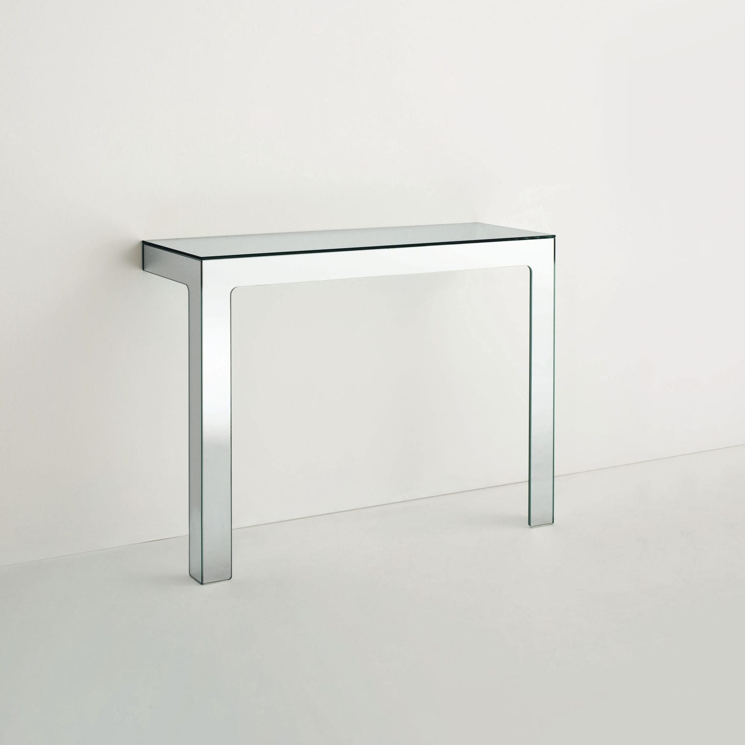 Contemporary Sideboard Table Glass Rectangular By Jasper