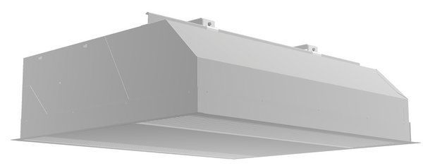 Wall-mounted air curtain / recessed / commercial / for shops ...