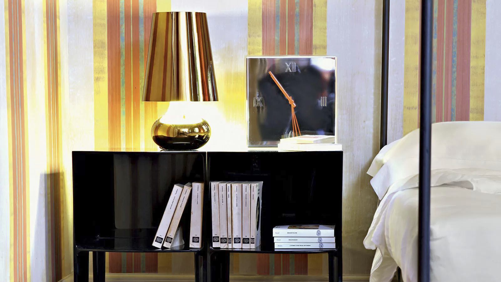 Contemporary bedside table / plastic / rectangular / by Philippe ...