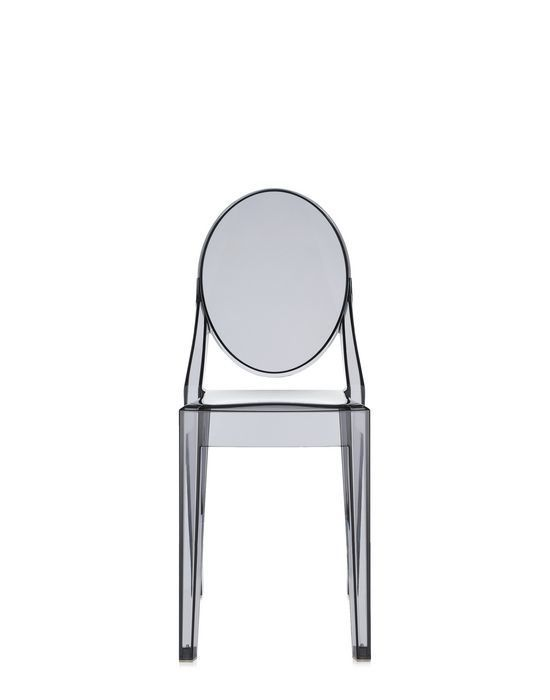 Contemporary Chair Polycarbonate Commercial By Philippe Starck Victoria Ghost Kartell