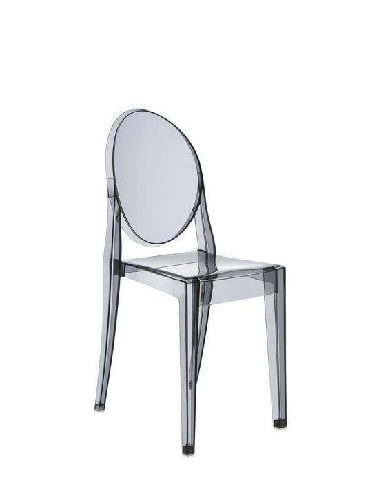 Contemporary chair / polycarbonate / commercial / by Philippe ...