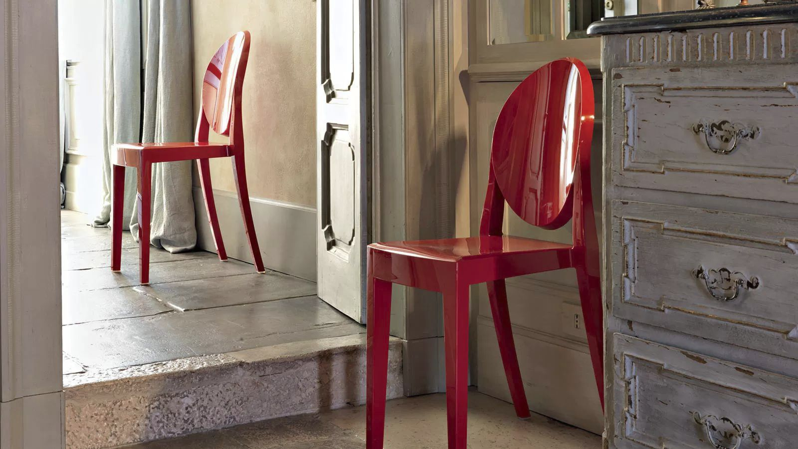 Chaises Ghost Kartell. Fabulous Kartell Kids Chaise Pour Enfants Lou ...