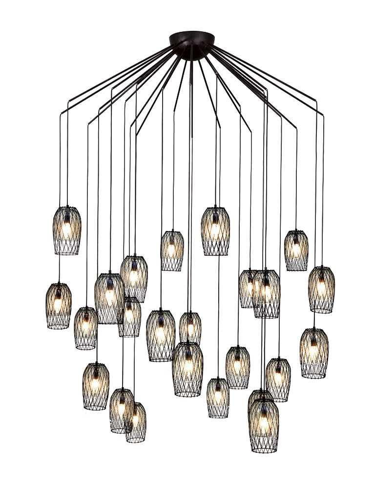 kenneth cobonpue lighting. Pendant Lamp / Contemporary Steel Glass Kenneth Cobonpue Lighting R