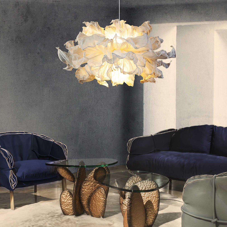 kenneth cobonpue lighting. Pendant Lamp / Original Design Metal Cotton - FANDANGO By Danny Fang Kenneth Cobonpue Lighting