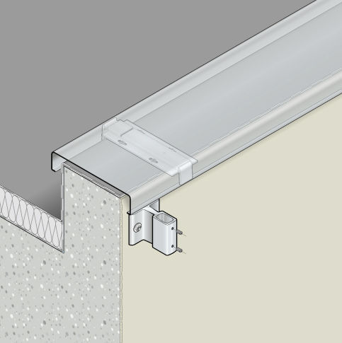 Aluminum Fastening System For Railing For Roof Terraces
