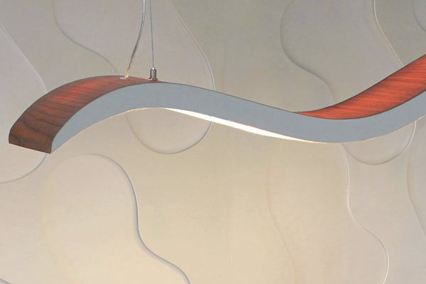 Ribbon Light Fixture : Lighting modern u luxetimepieces