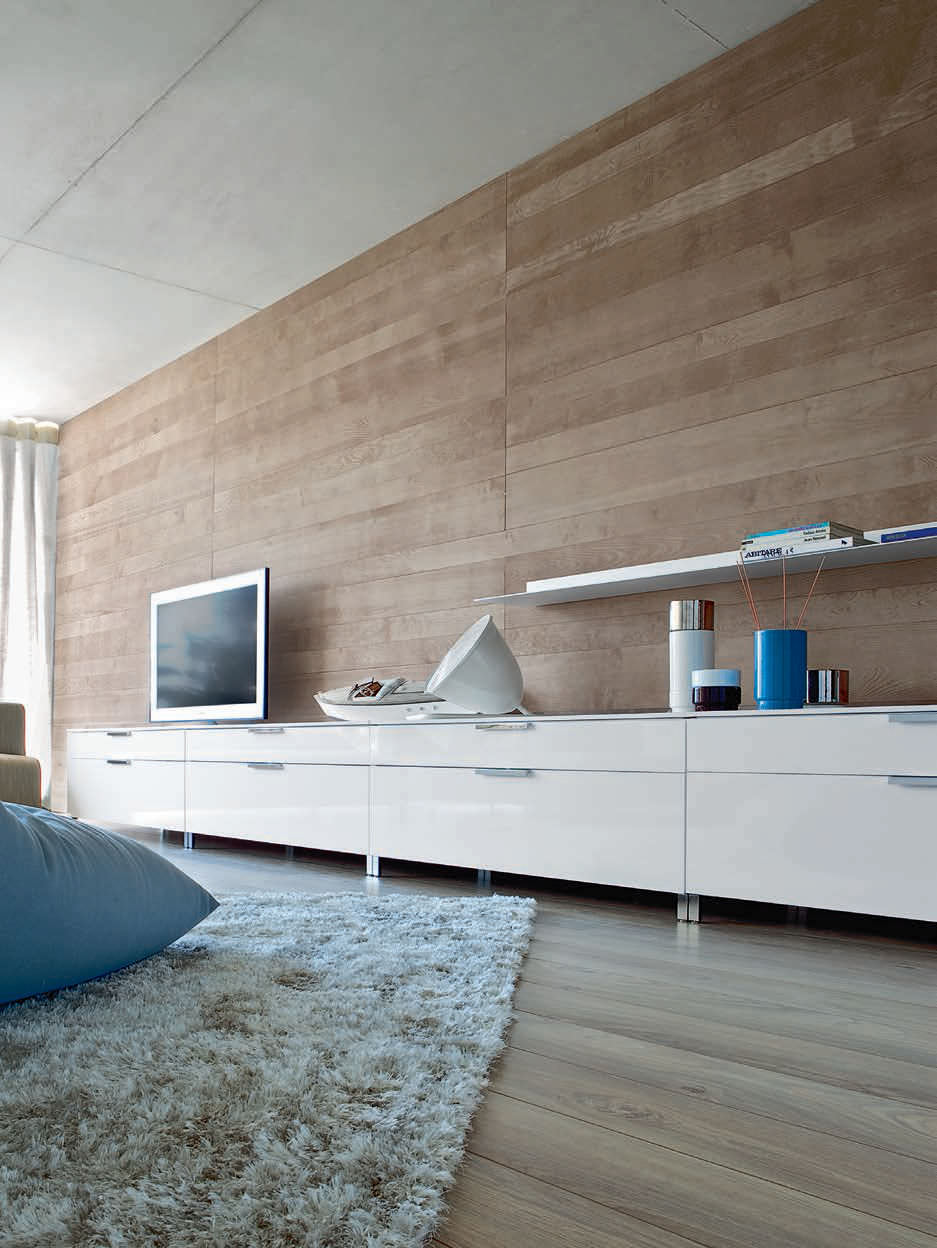 Contemporary Tv Cabinet Hi Fi Lacquered Wood By Christian  # Ligne Roset Meuble Tele