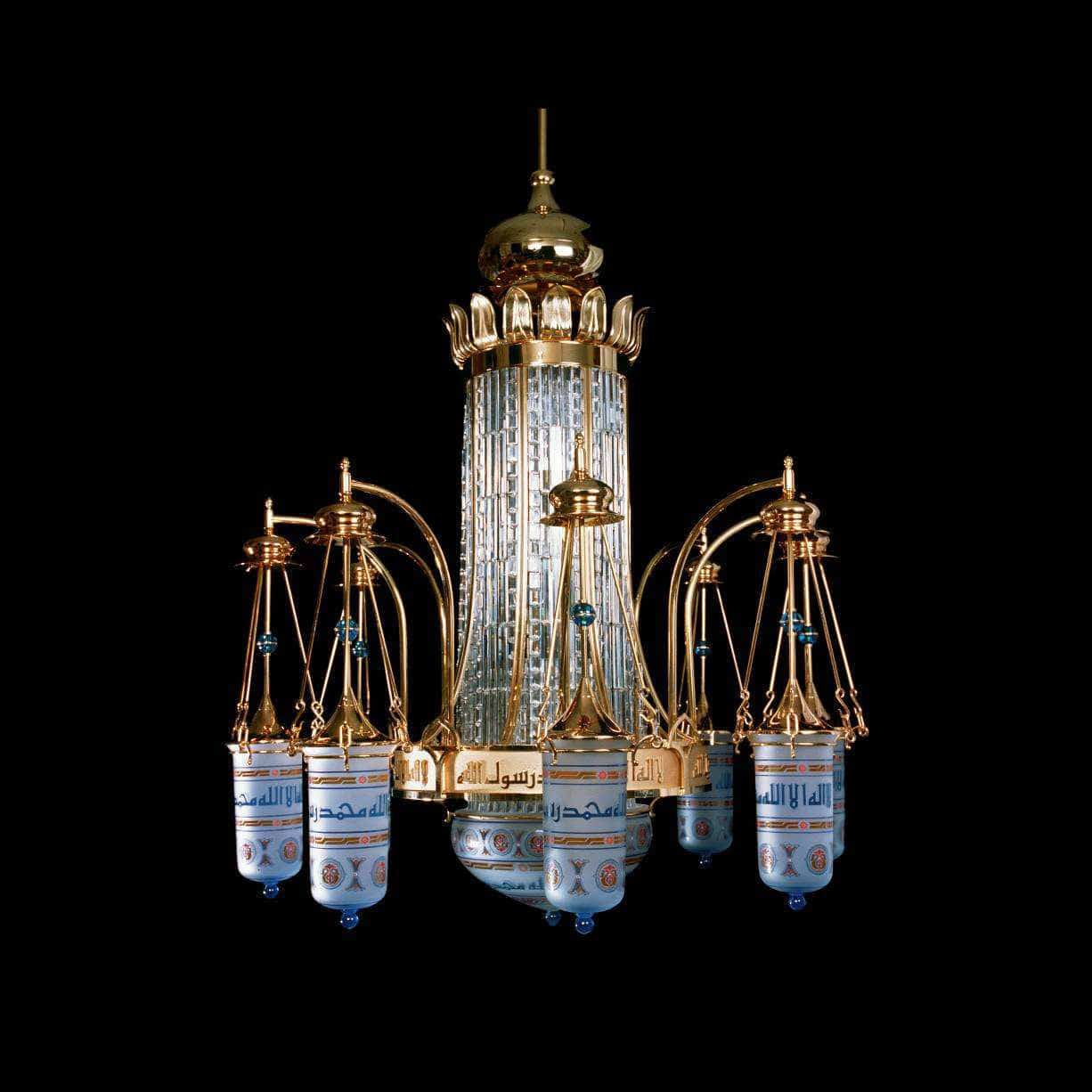 Traditional chandelier crystal brass incandescent medina old traditional chandelier crystal brass incandescent medina old mosque 41201 20 by peter rath aloadofball Image collections