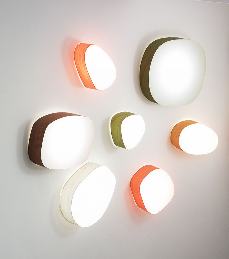 Original Design Wall Light / Acrylic - Guijarros Series By Marivi