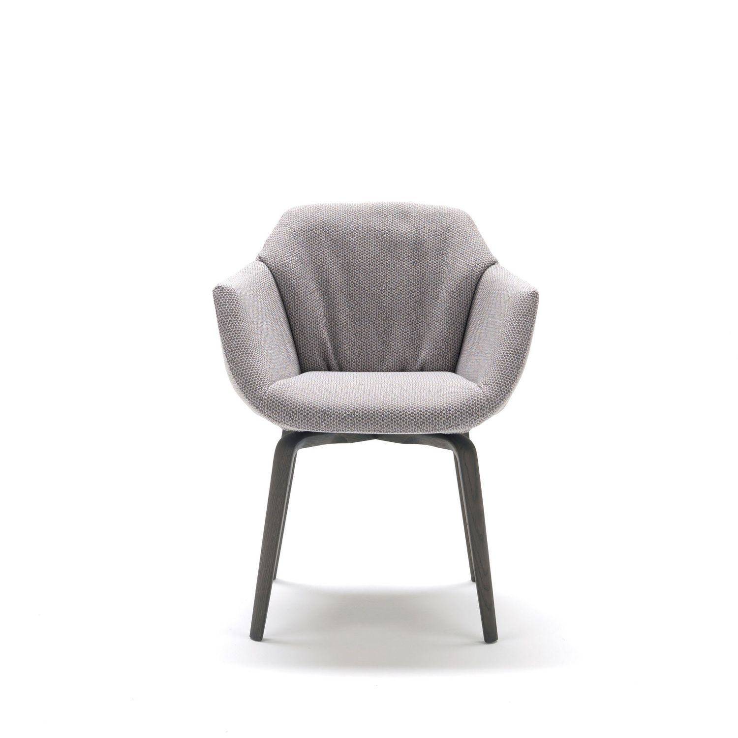 Captivating Contemporary Chair / With Armrests / Upholstered / Fabric   NAOS