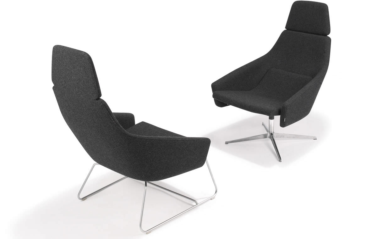 High Quality ... Contemporary Armchair / Leather / With Headrest / Swivel WRAP By Simon  Pengelly Modus