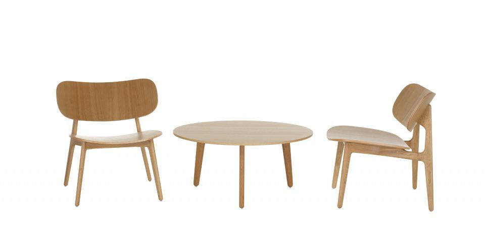 ... Contemporary Coffee Table / Wooden / Round / 100% Recyclable PLC By  PearsonLloyd Modus ...
