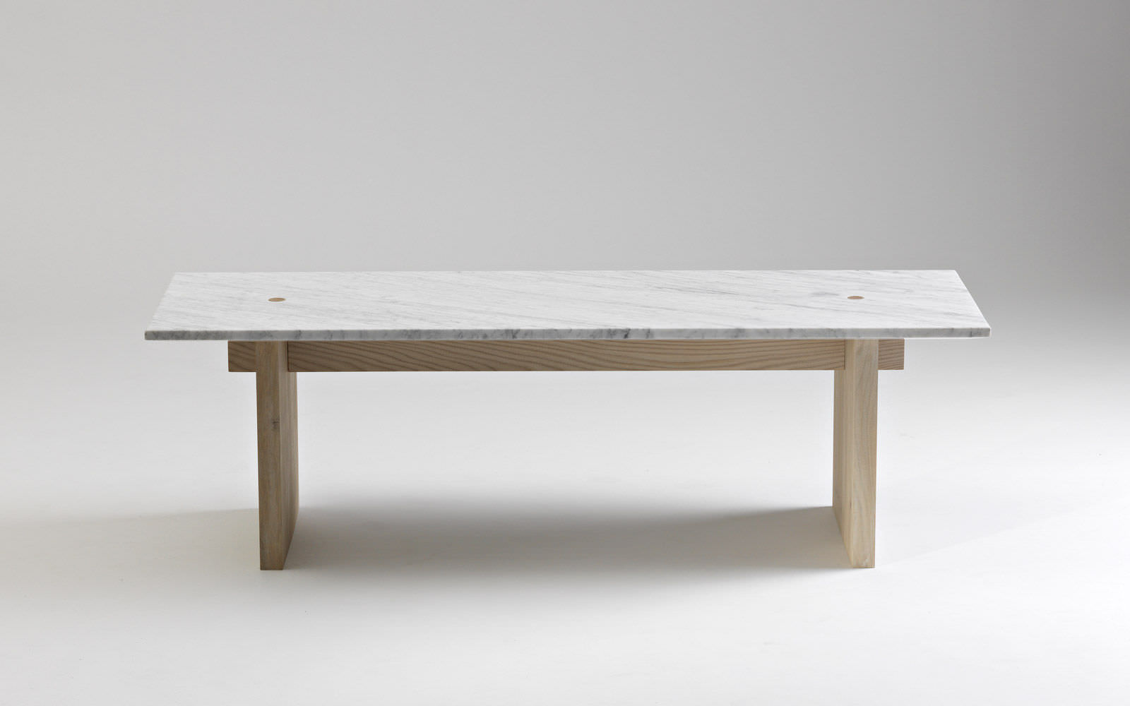 ... Contemporary Coffee Table / Ash / Marble / Rectangular ...
