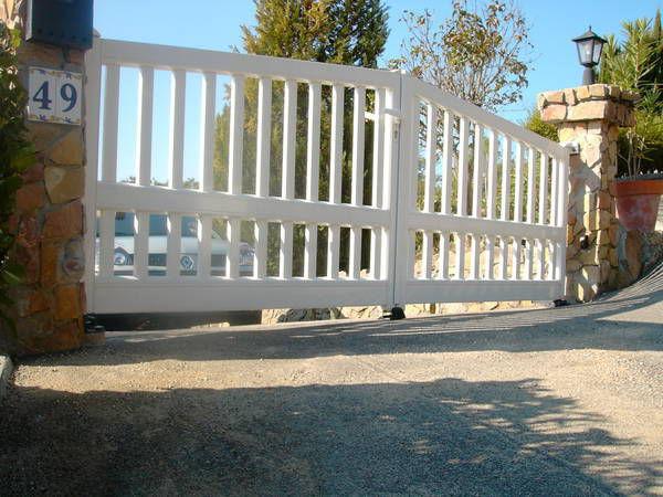 Swing gates / sliding / aluminum / bar - CONTEMPORAIN : AOBA - Horizal