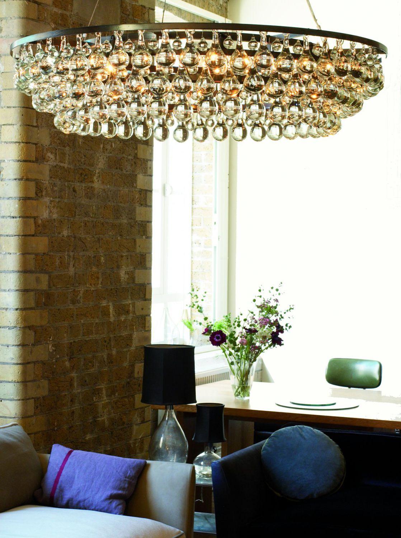 Contemporary chandelier glass nickel bronze arctic pear ochre contemporary chandelier glass nickel bronze aloadofball Gallery