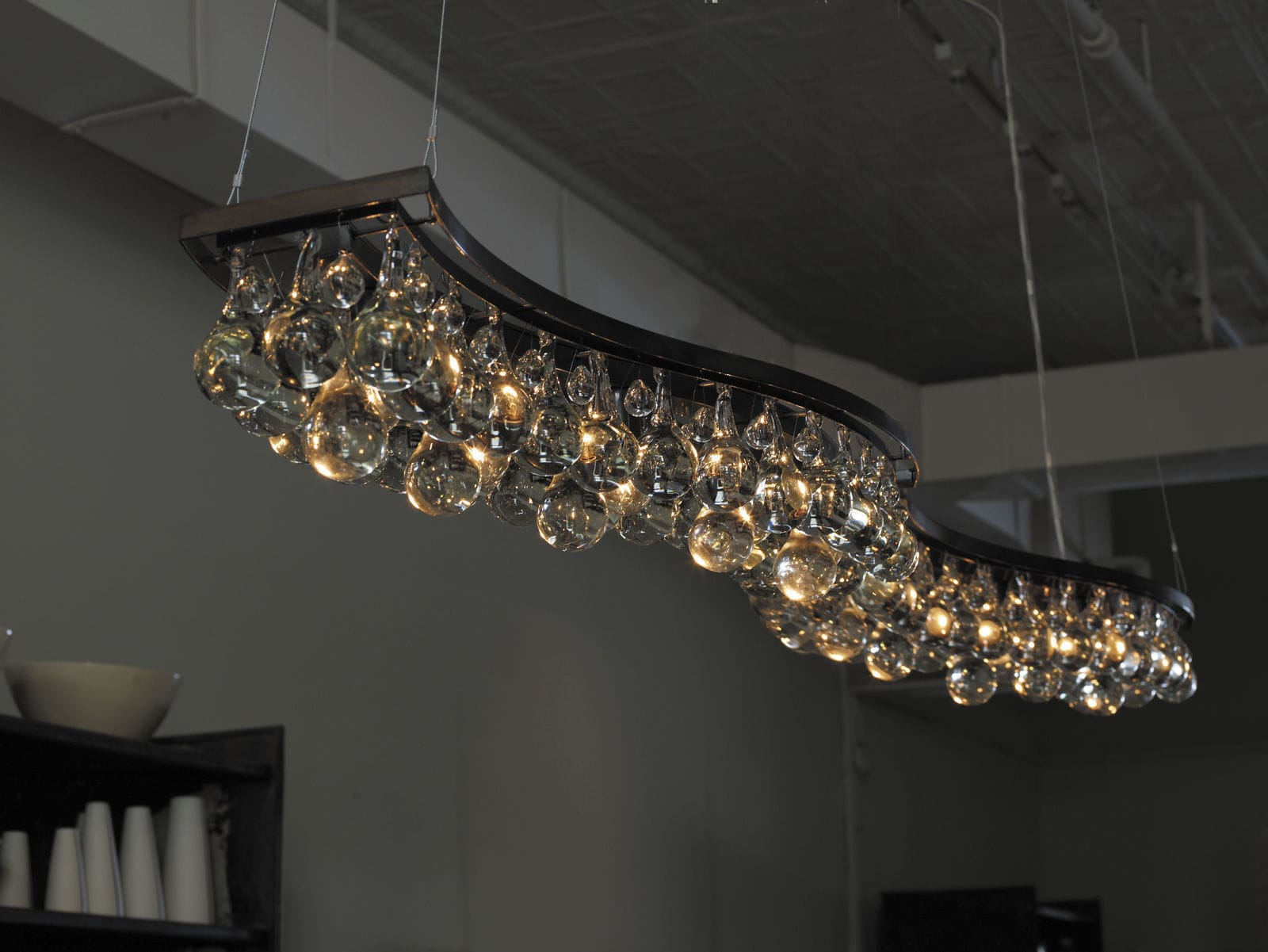 ethan modern chandeliers us allen cage shop en nickel lighting chandelier
