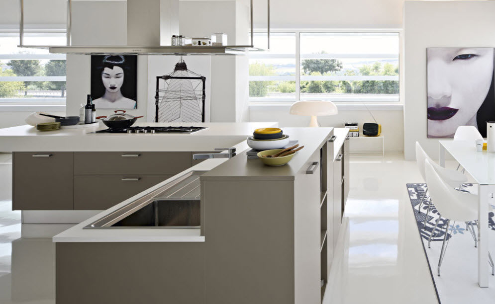 Contemporary Kitchen / Laminate · Contemporary Kitchen / Laminate ...