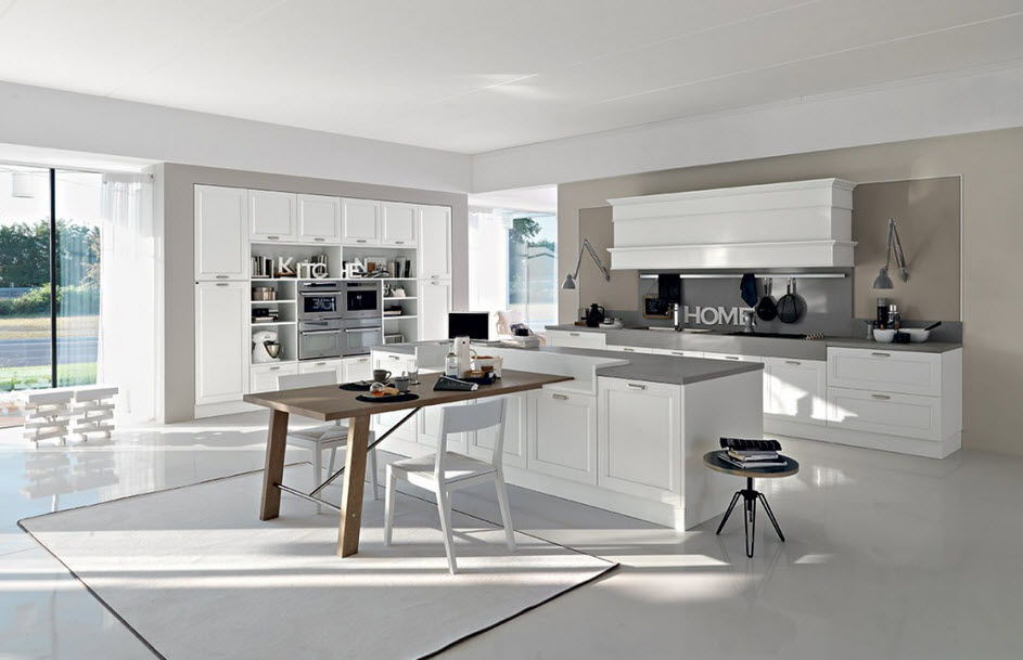 ... Contemporary Kitchen / Laminate / Lacquered VINTAGE Pedini ...
