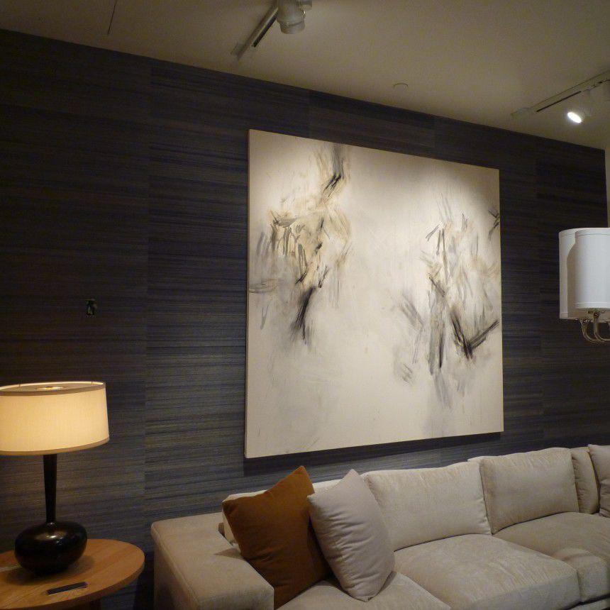 contemporary wallpaper / fabric / plain - HORSEHAIR - 3254