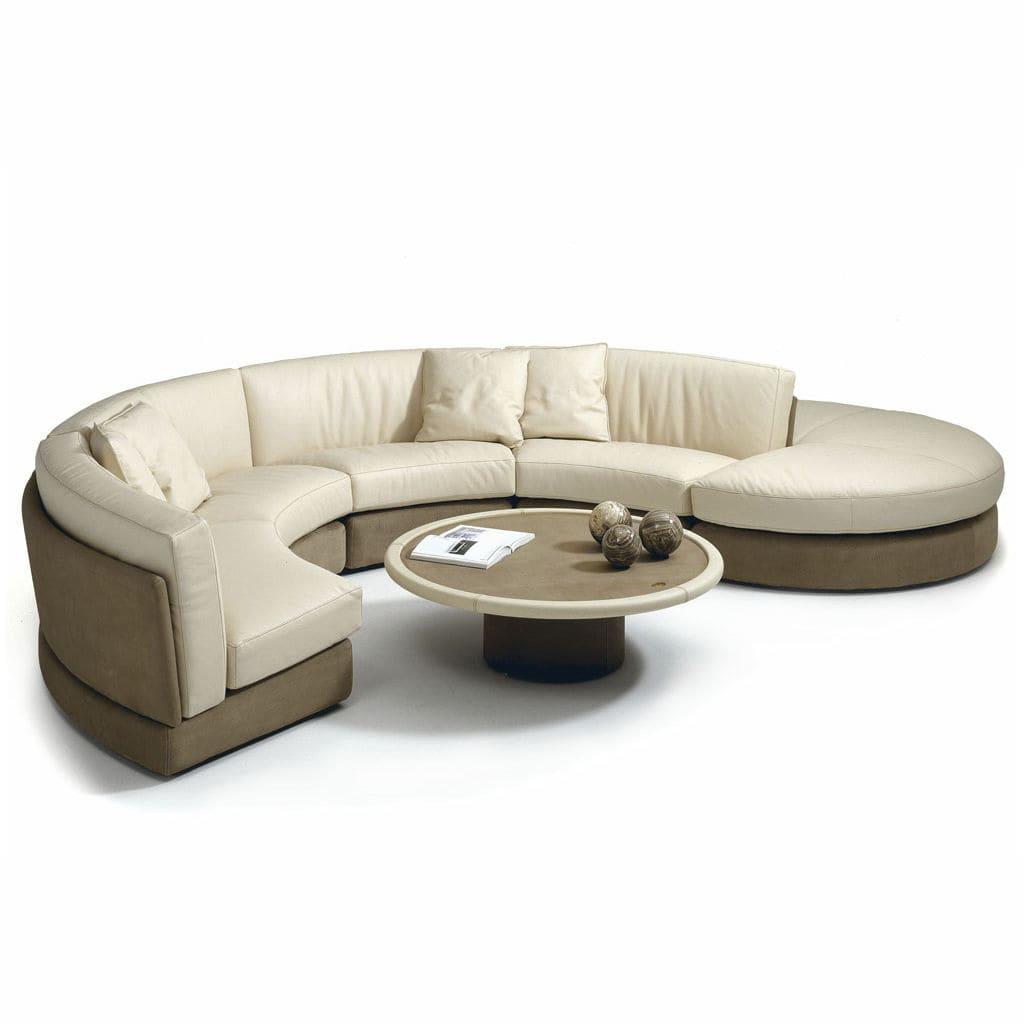 Modular Sofa / Contemporary / Fabric / Leather   ZARCO By Bartoli Design