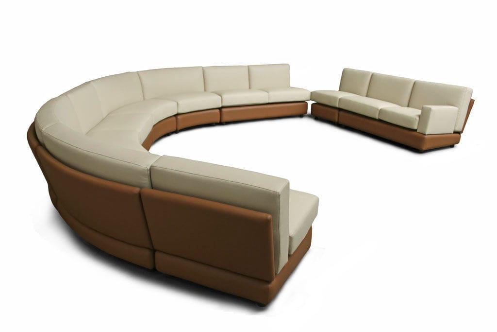 ... Modular Sofa / Contemporary / Fabric / Leather ZARCO By Bartoli Design  Rossi Di Albizzate
