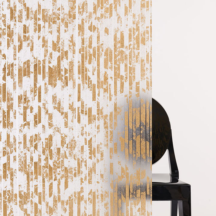 Resin Decorative Panel For Partition Walls Metal Look