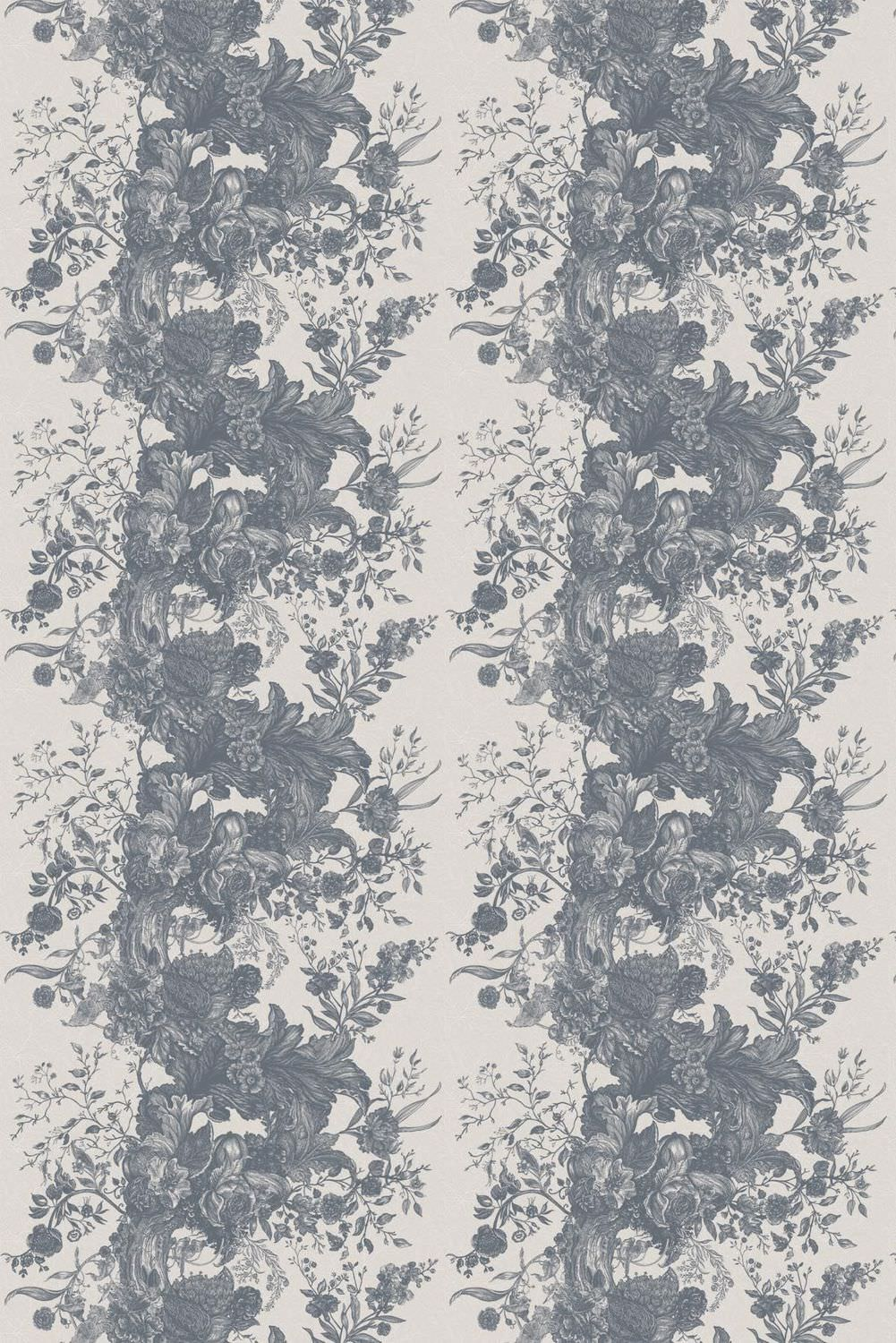 Fabric tree pattern - Upholstery Fabric For Curtains Wall Floral Pattern Tree Of Life Toile Timorous Beasties