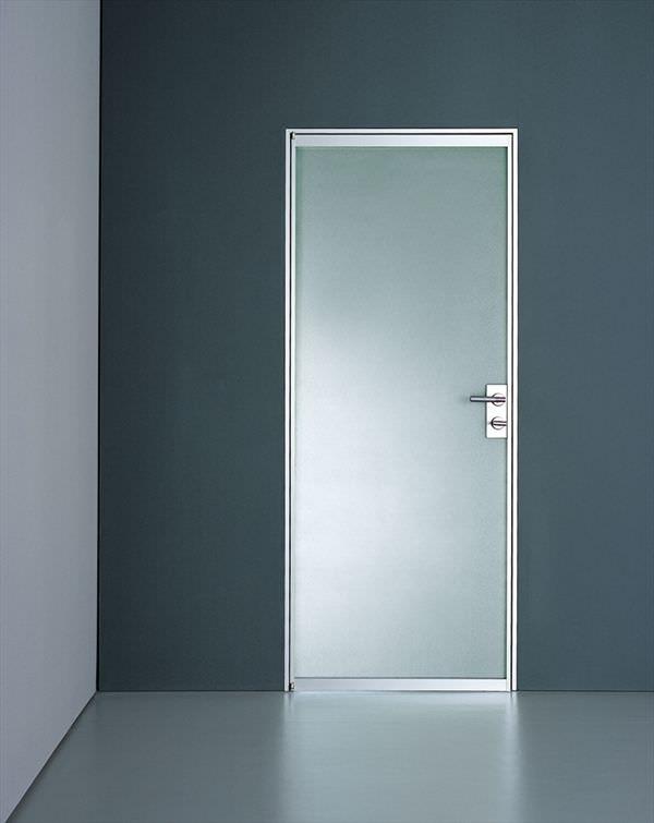 Indoor door / swing / aluminum - PLANUS TRE by Antonio Citterio ...