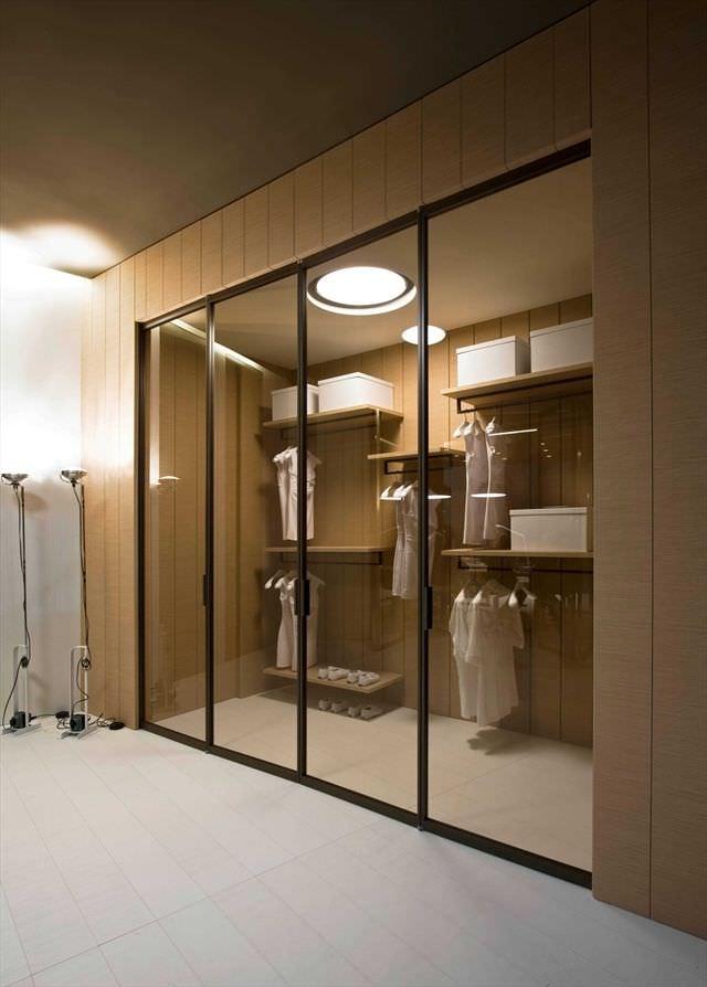 Indoor Door Closet For Walk In Closet Folding Pavilion Libro