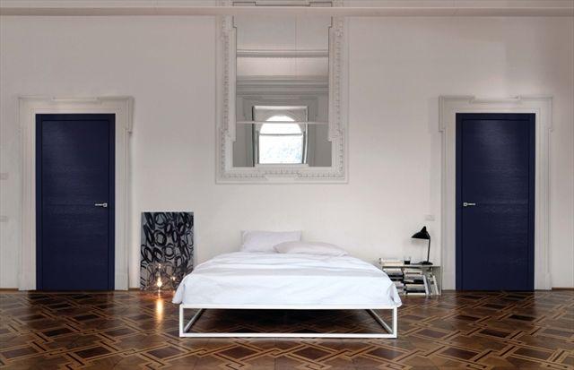 Indoor door / swing / wooden - PLANAR SCULTURA COMPLANARE - TRE ...