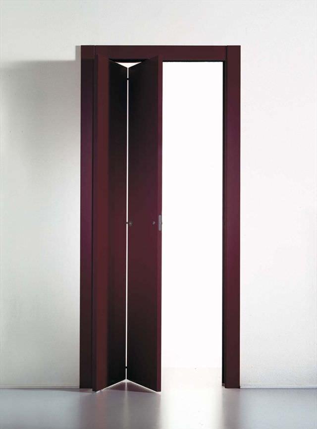 Indoor door / folding / wooden - LIBRO by TRE-P Lab - TRE-P&TRE-Più
