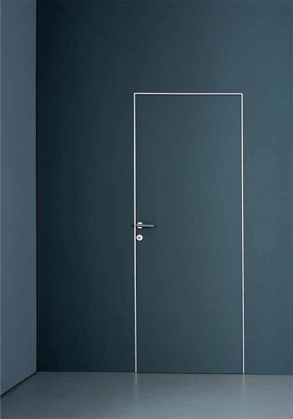 Indoor door / swing / wooden / flush - PLANUS CINQUE by Antonio ...