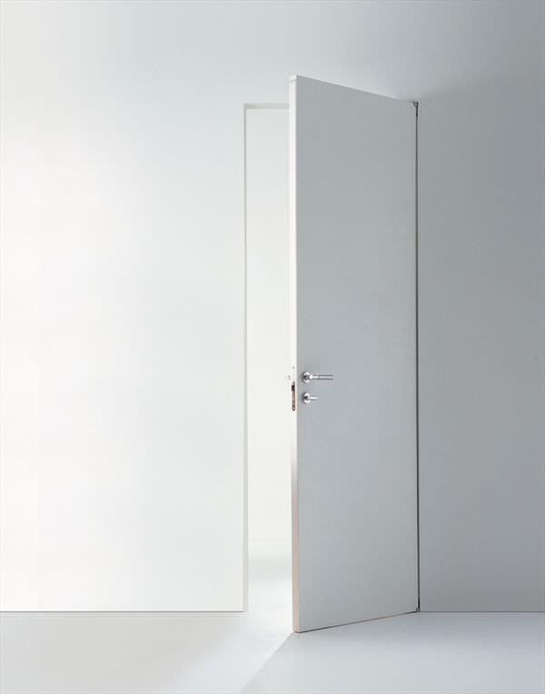 Indoor door / swing / metal / flush - PLANUS SETTE by Antonio ...
