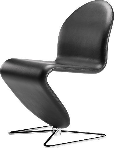 Contemporary Office Chair Swivel Cantilever Central Base