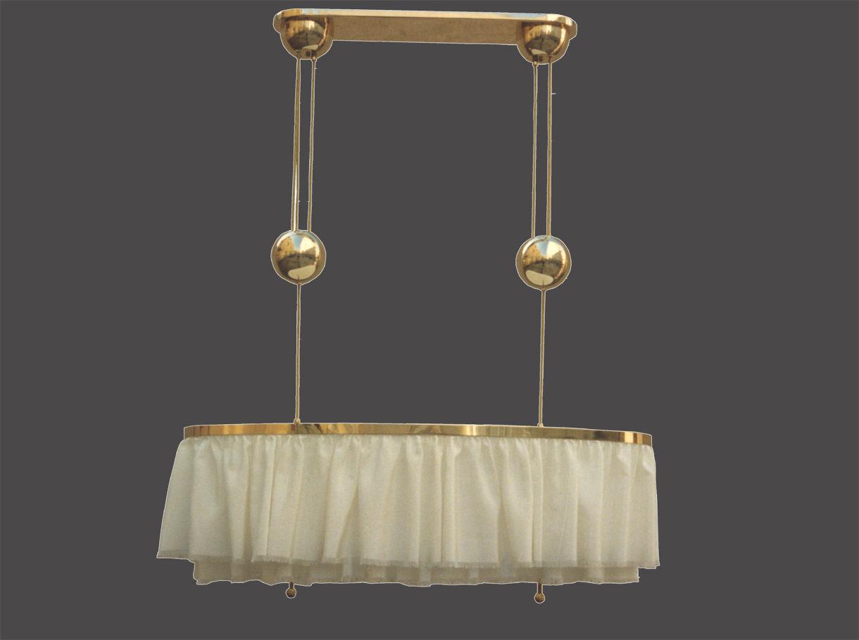 Traditional chandelier brass silk custom dinner 20816 traditional chandelier brass silk custom dinner 20816 woka lamps vienna arubaitofo Images